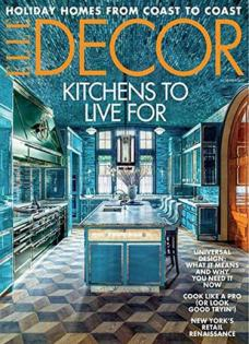 Elle Decor Magazine Cover Image