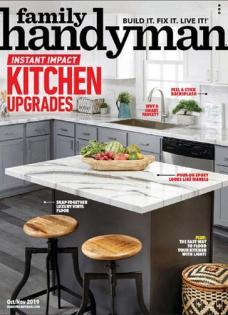 Family Handyman Magazine Cover Image