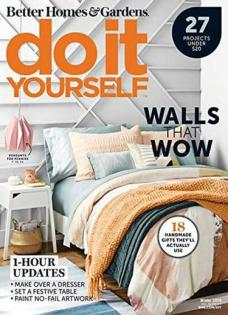 do it yourself magazine subscription renewal or give as a gift. Black Bedroom Furniture Sets. Home Design Ideas