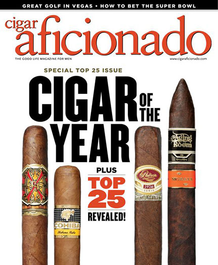 Cigar Aficionado Magazine Subscription Renewal Or Give